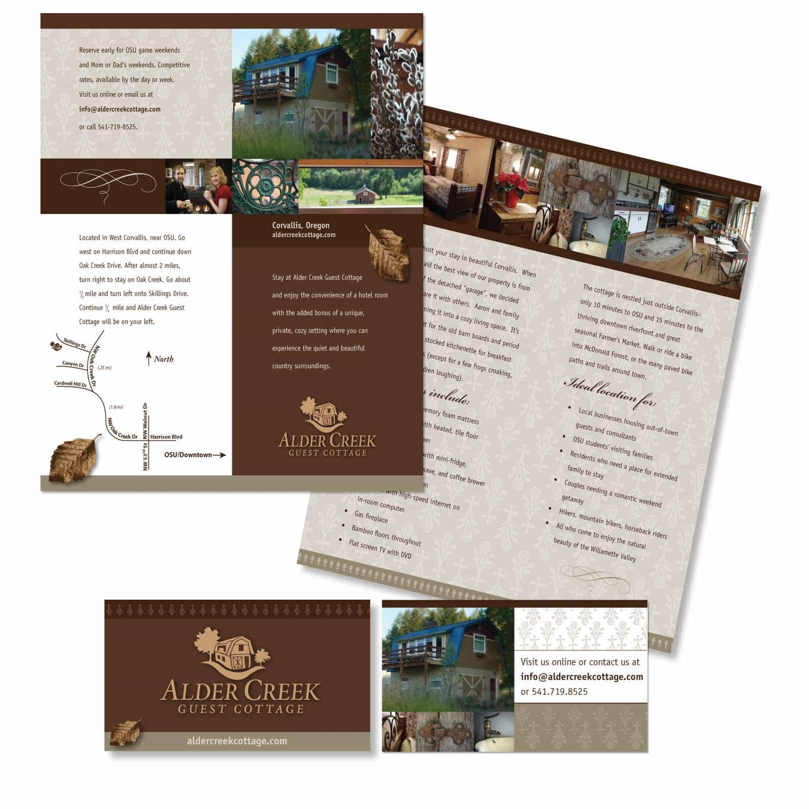 Graphic Design of brochure and Logo
