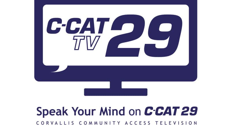 Branding, Logo Design and Tagline for Corvallis Community Access Television