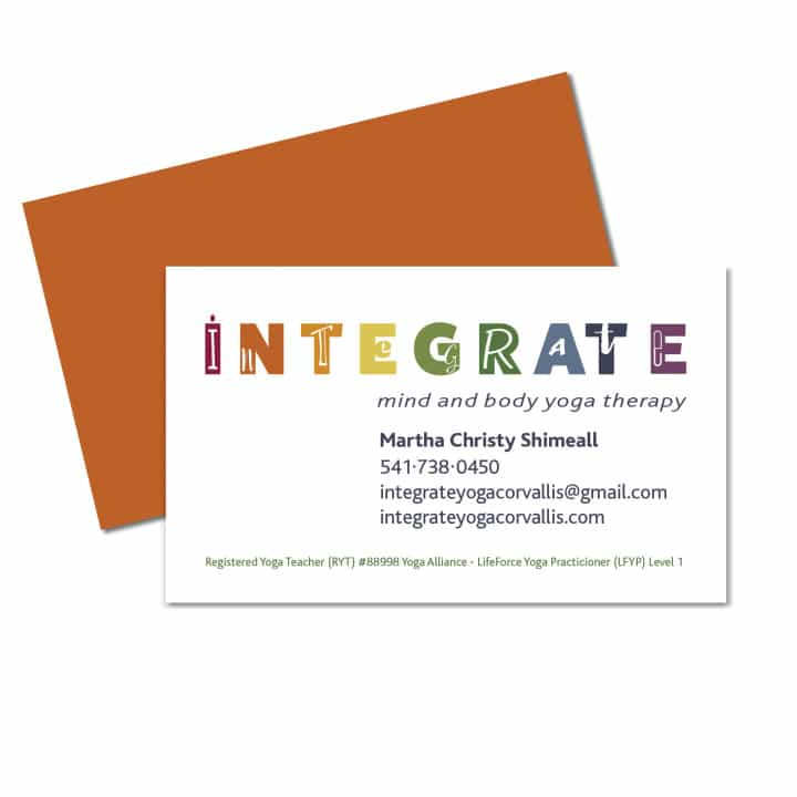 Integrate Logo and Business Card