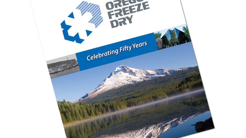 Cover and Book Design for Oregon Freeze Dry