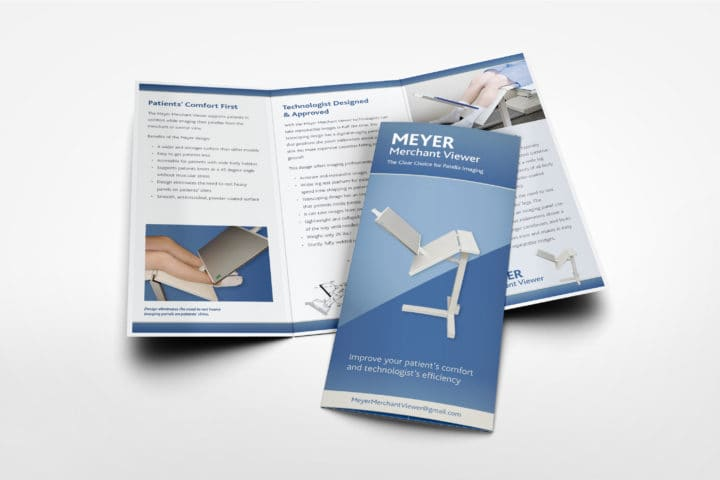Graphic Design of trifold brochure cover and interior