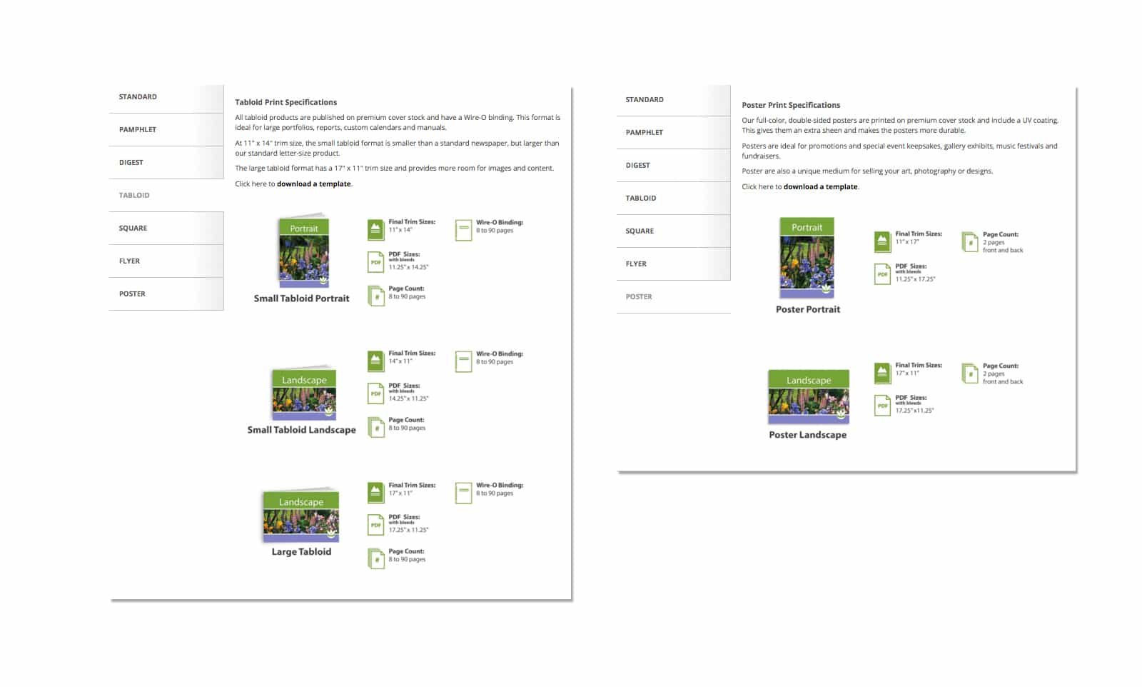 Website Graphics - Icon Design and Illustration, Sample print product design
