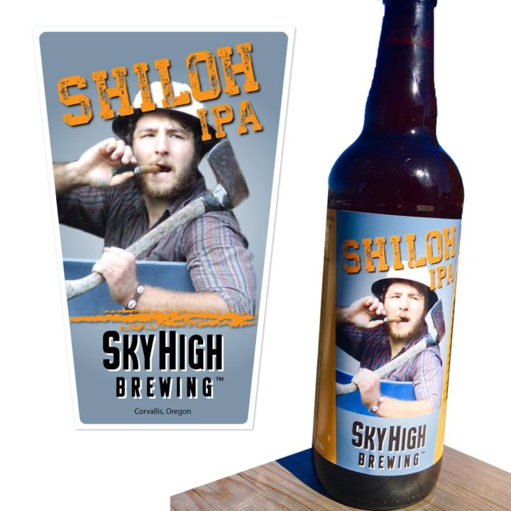 Shiloh Tap Handle Beer Label